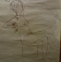 Modèle vivant - dessin (2)