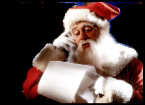Tubes pères Noël 4