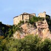 BRUNIQUEL Le chateau Septembre 2012 photo MCMG82