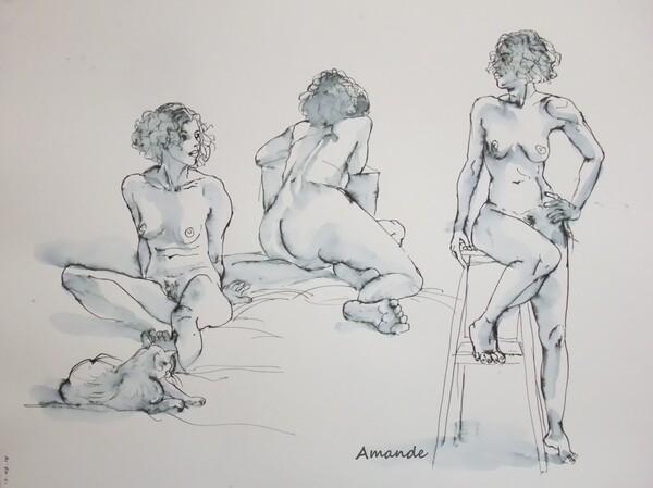 Mercredi - Trois poses