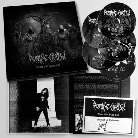 ROTTING CHRIST - Les détails de la box Under Our Black Cult