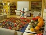 début de soirée automne bibliotheque