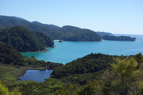 Les Queen Charlotte et la randonnée de Abel Tasman