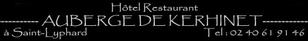 L'auberge de Kérhinet, un clic pour vous rendre sur le site