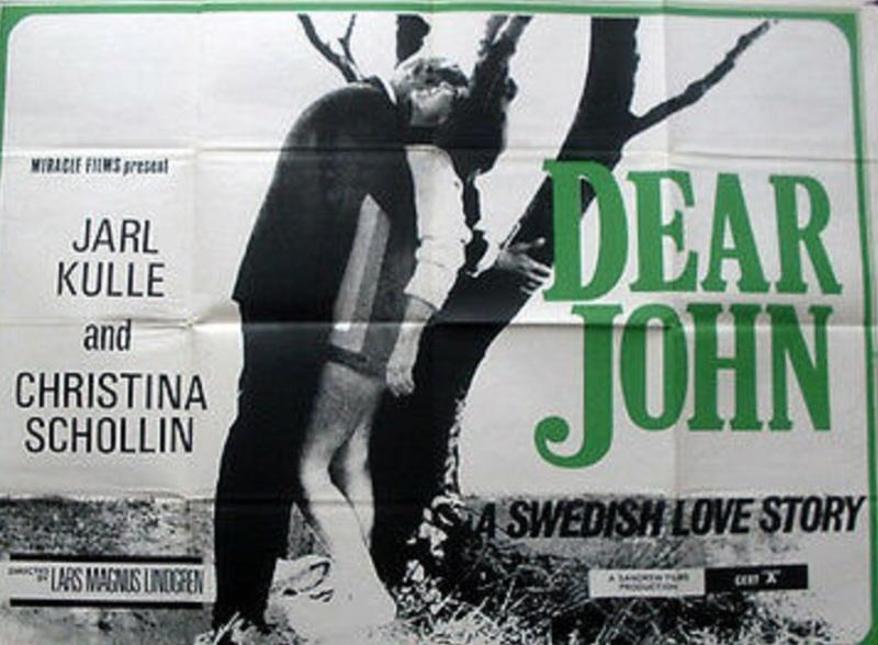 DEAR JOHN BOX OFFICE USA 1966