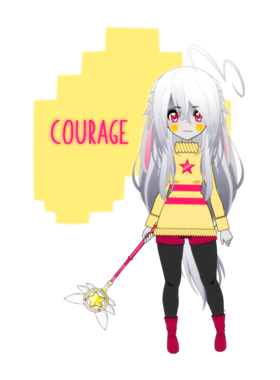[Kisekae - Pokemaloid AU] Feels of BRAVERY (Primrose Yellow Soul)