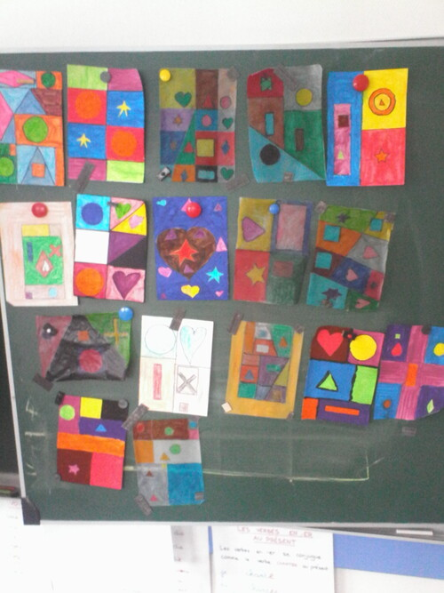 english game : shapes and colour