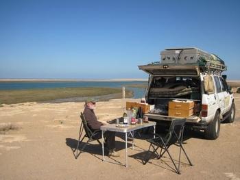 maroc repas au lac de naïla
