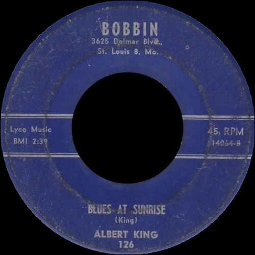 "Albert King : Album "" The Big Blues "" King Records 852 [ US ]"