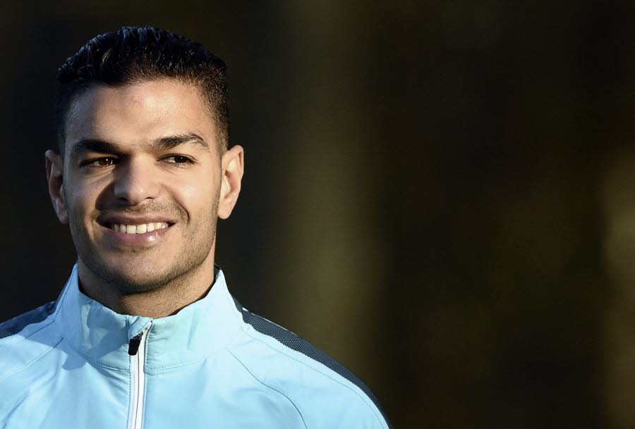 Hatem Ben Arfa. Photo AFP