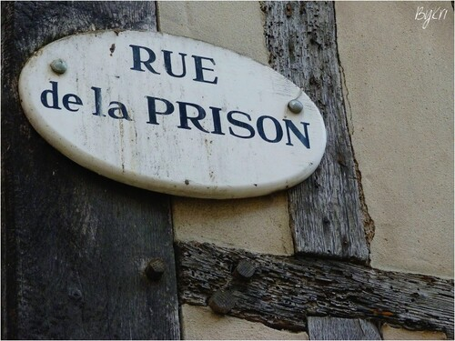 Honfleur (14) ~ Rue de la Prison ...