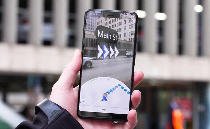 Google Maps passe à la réalité augmentée