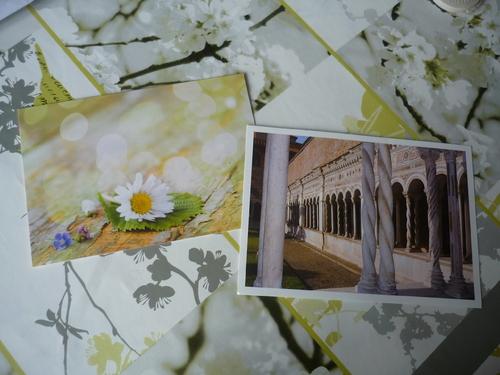 Echange cartes de voeux et cartes postales