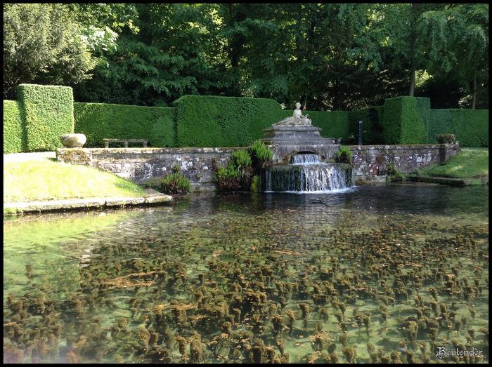 Courances : Le parc du château
