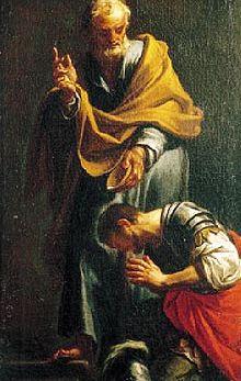 Saint Corneille le centurion (Ier siècle)