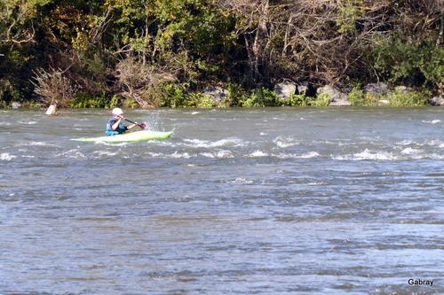 Souvenirs d'octobre 2019: kayak sur Garonne