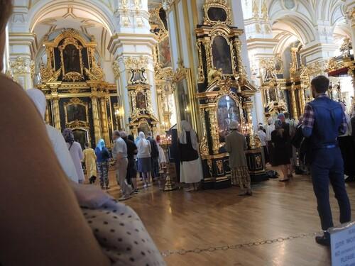 Croisière Russie- N°2- St Petersbourg- jour 1 - Cathédrale St Nicolas des Marins