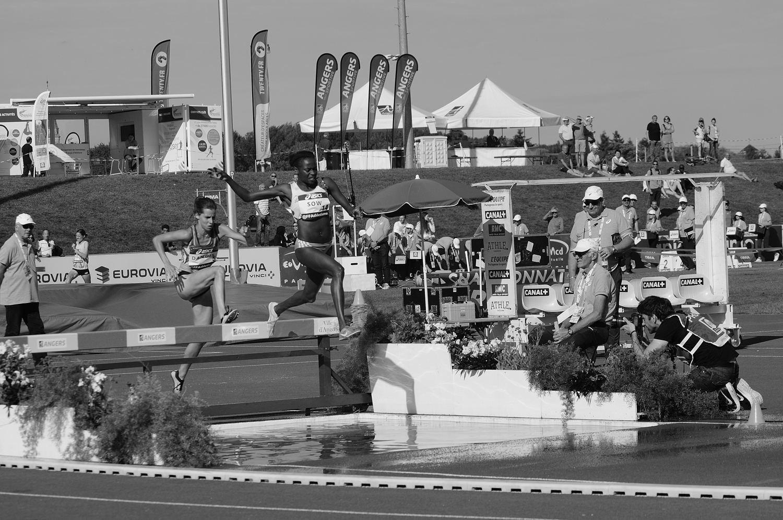balade en N&B #160702  Championnat d'athlétisme Elite 2016