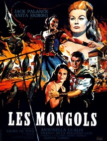 LES MONGOLS BOX OFFICE FRANCE 1961