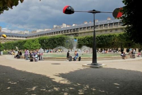 Takis Signaux Eoliens Palais Royal 9