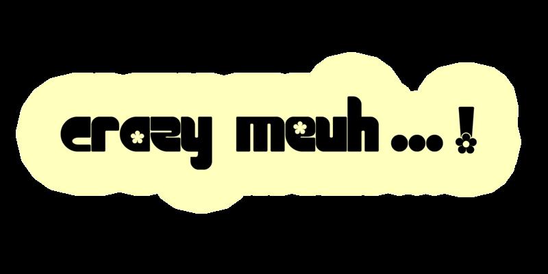 SCRAP CRAZY MEUH-MEUH