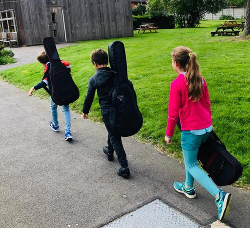 Naissance d'un orchestre à l'école !