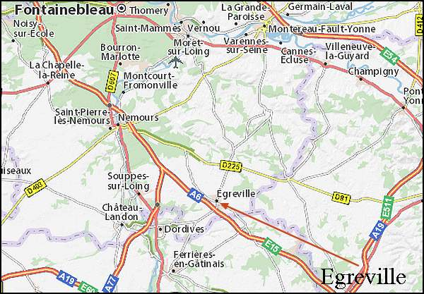 Egreville (Seine-et-Marne )