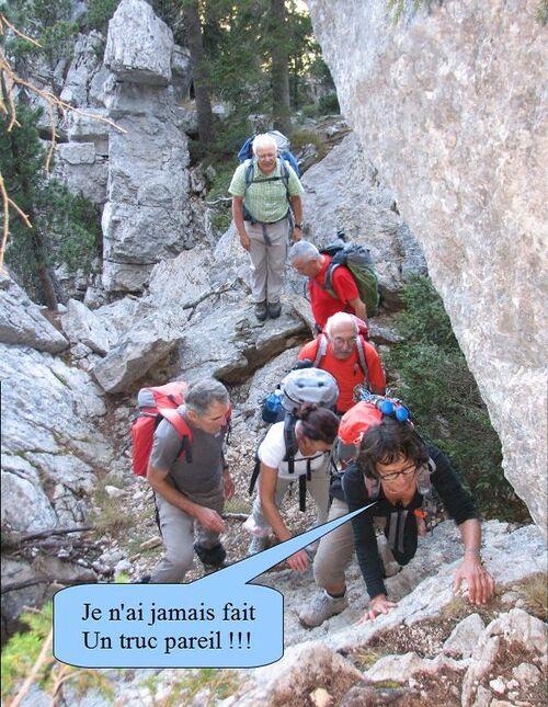 23/10/2012 - Le Col de Bellefond et la Lance Sud de Malissard