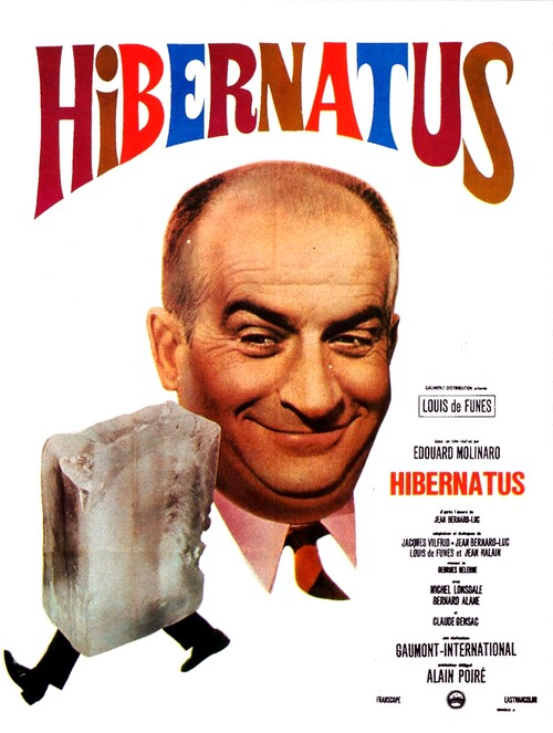 HIBERNATUS -  LOUIS DE FUNES BOX OFFICE 1969