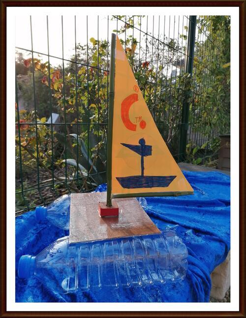 Tuto : Un catamaran en bouteille