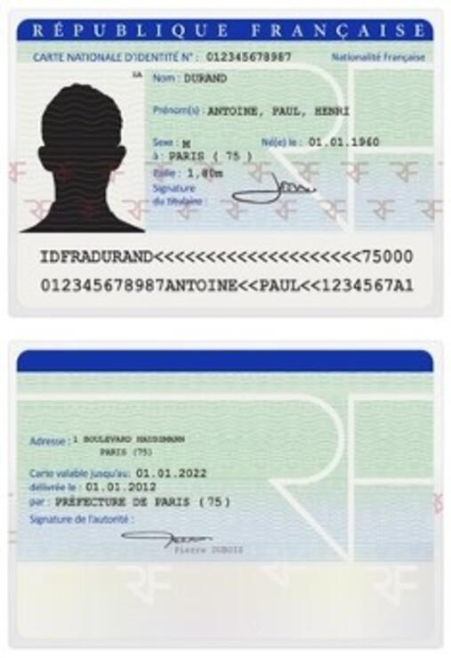 carte d identite en ligne Carte d'identité : pré demande en ligne, bientôt sur tout le territoire