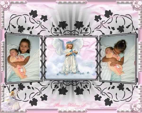 mes petites filles Naomie et Kelly