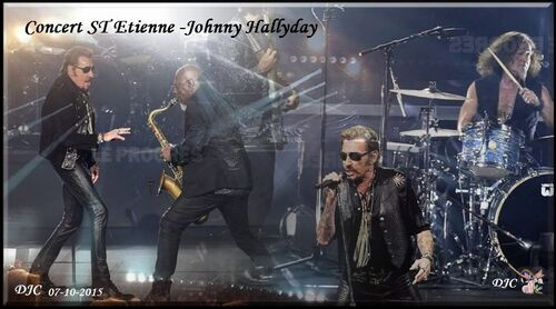 Johnny Hallyday - TOUR 2015- 2016