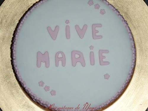 Gâteau Marie
