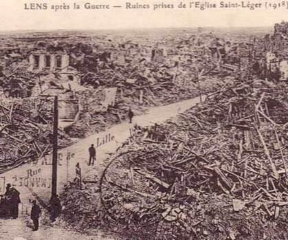 La fin de la première guerre mondiale