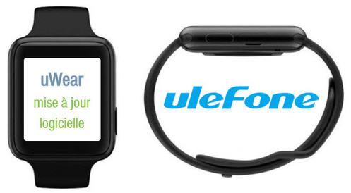 Ulefone uWear : comment la mettre à jour ?