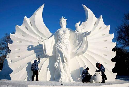 Artiste : Des sculptures de rêve en Chine