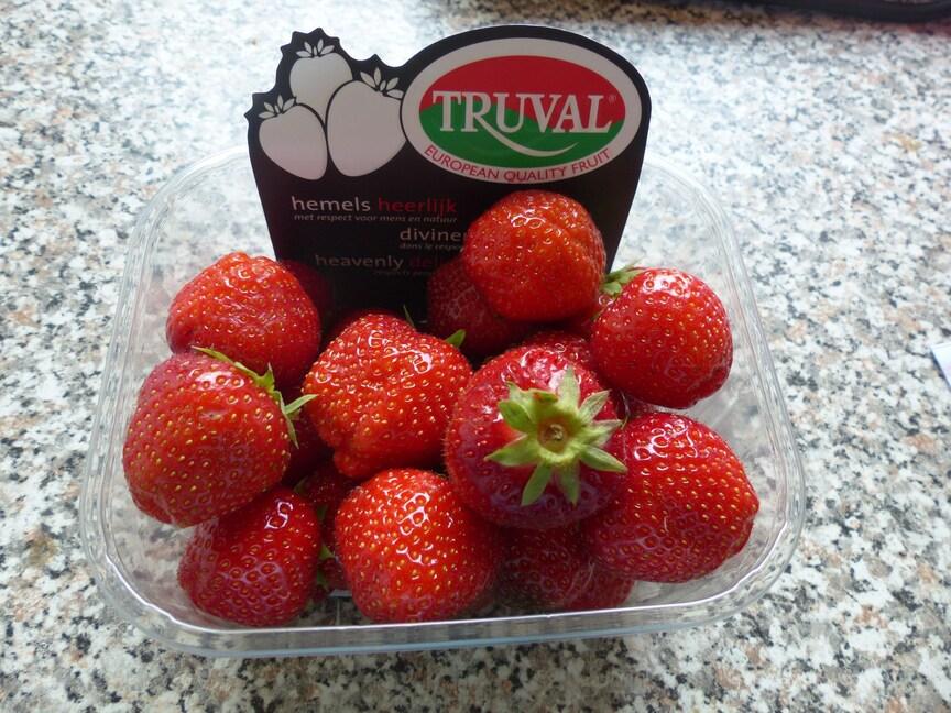 Miam des fruits rouge pour Milfontaines