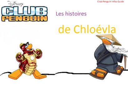 Les histoires de Chloévla