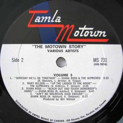 TAMLA MOTOWN STORY