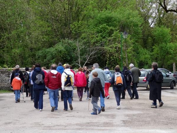 Une belle marche gourmande dans le canton de Montigny sur Aube