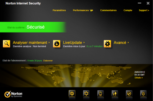 Norton Internet Security 2012 - Licence 2 mois gratuit