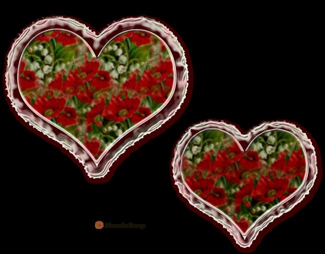 Coeurs fleurs page 4