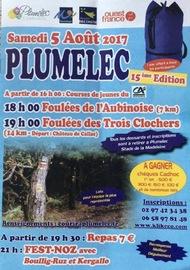 Les Foulées des 3 clochers - Plumelec - Samedi 5 août 2017