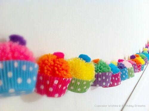 Fête / Party : La décoration avec des guirlandes