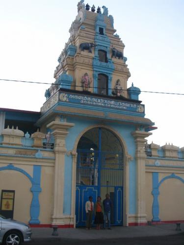 un temple consacré au divinitée