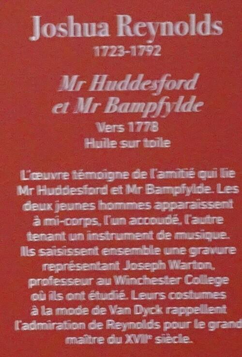 Exposition l'âge d'or de la peinture anglaise au Musée du Luxembourg