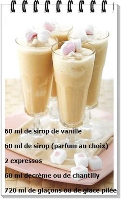 Café glacé rafraîchissant