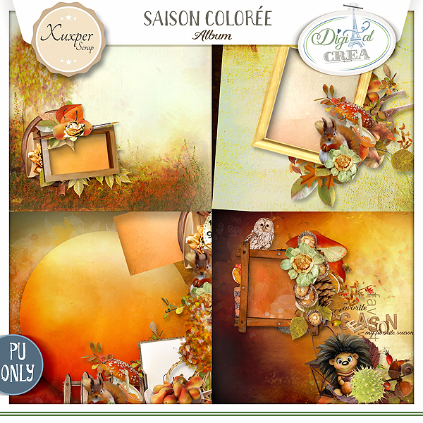 SAISON COLORÉE by Xuxper Designs