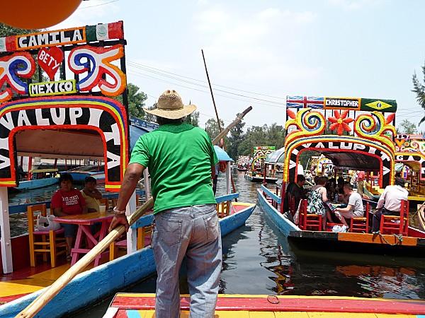 Mexico Xochimilco promenade